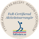 Oasen Bad & Motion FAR certifierad